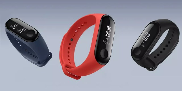 Colores disponibles para la Xiaomi℗ Mi Band 3