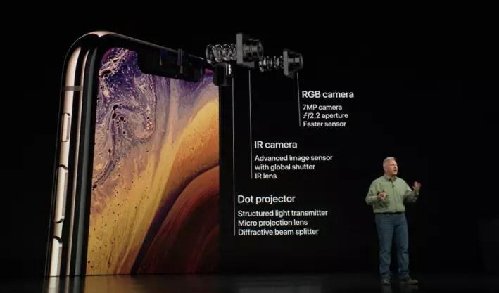 cámara iphone xs
