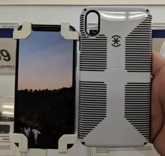 iPhone X vs carcasa del iPhone Xs Max