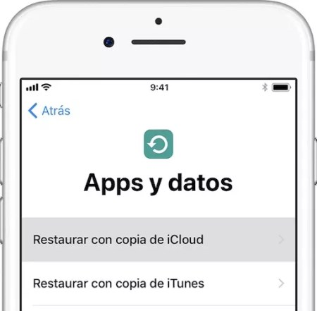 restaurar ios