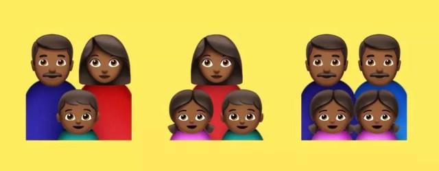 Distintos emojis para 2019