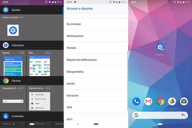 registro comunicaciones android