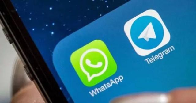 telegram y whatsapp