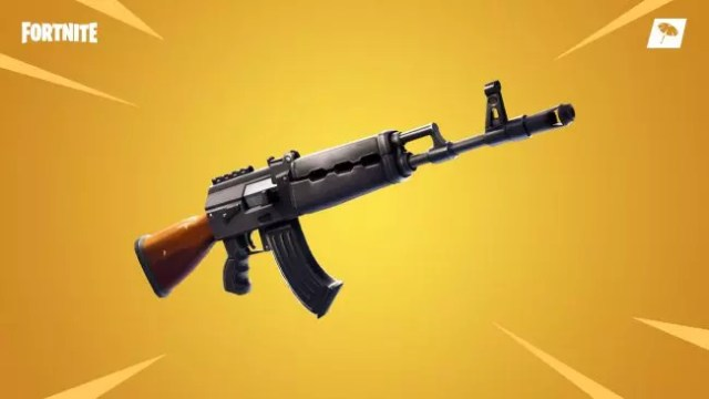 Nuevo fusil de asalto pesado en Fortnite