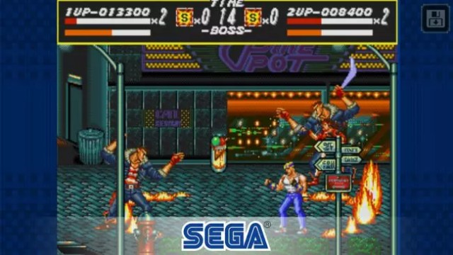 Streets of Rage Android