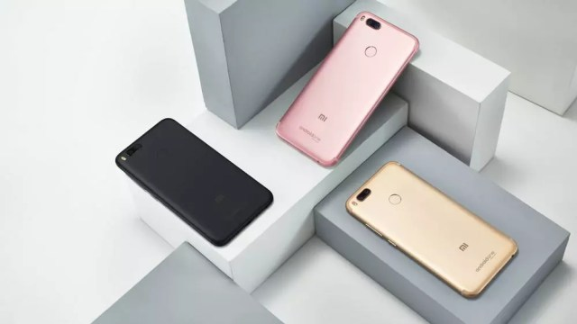 Xiaomi Mi A1 en diferentes colores