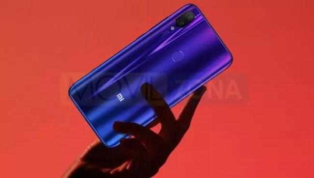 Xiaomi Mi Play cámara