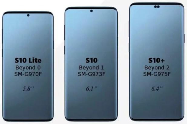 pantalla del Galaxy S10