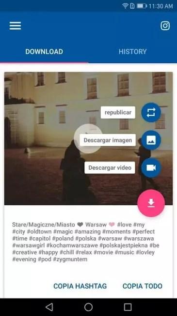 Instagram-Downloader Android