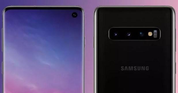 fondo de pantalla del Samsung Galaxy S10