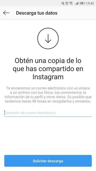 guardar fotos instagram