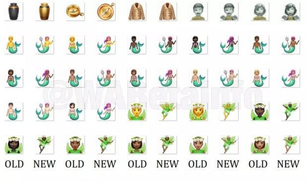Nuevo diseño emojis en WhatsApp
