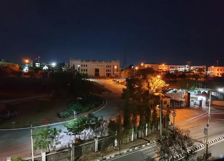 Galaxy S9 sin Modo Noche