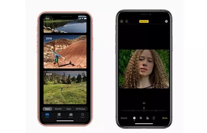 Cámara en iOS 13