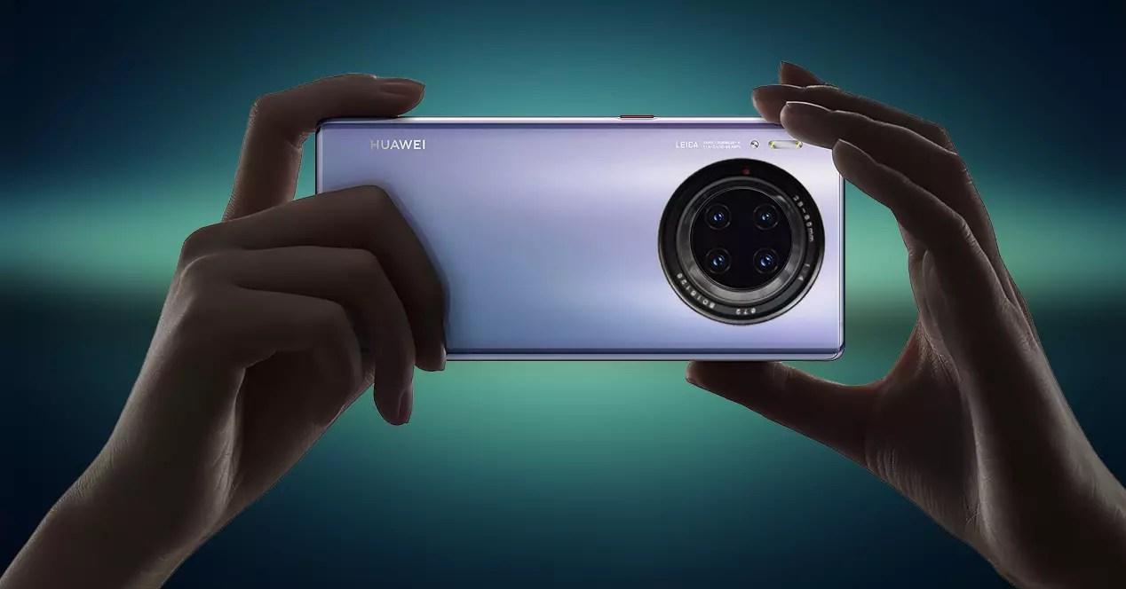 La primera lente liquida llegaría con el Huawei P50
