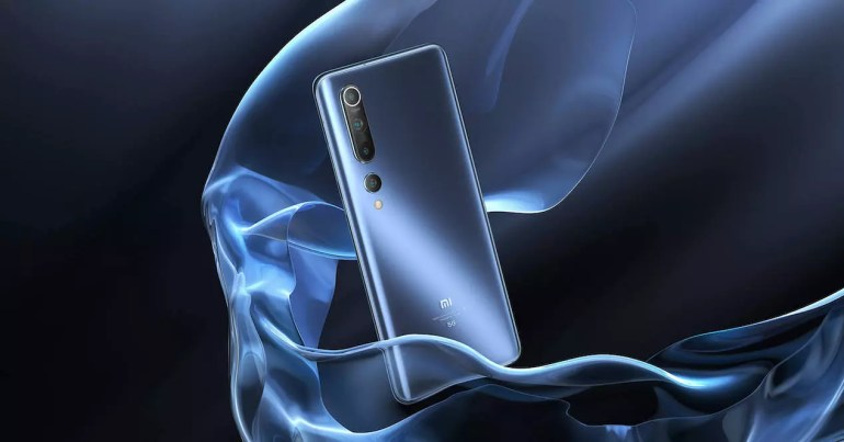 Xiaomi Mi 10 rear