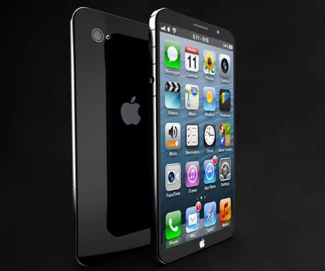 Render del iPhone 6 en color negro