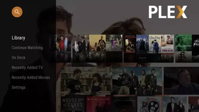 Plex en Android TV