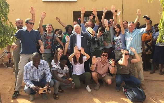 Conviviale del Trentennale di Shalom in Burkina Faso