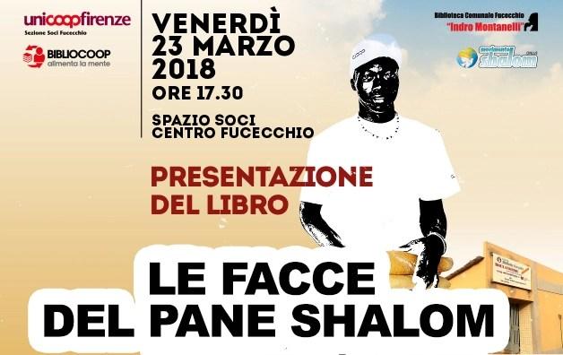 Presentazione del libro LE FACCE DEL PANE SHALOM il 23 marzo a Fucecchio