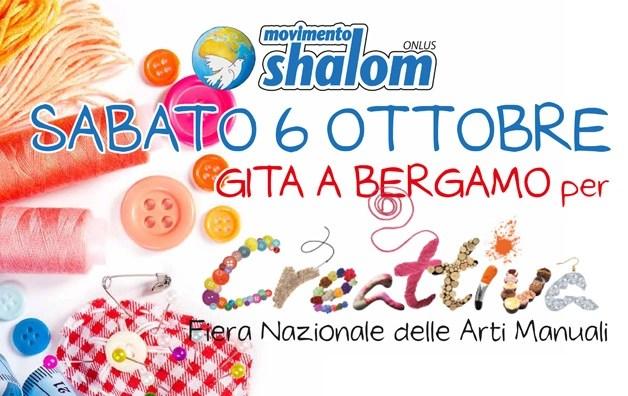 Gita a Bergamo per CREATTIVA il 06/10
