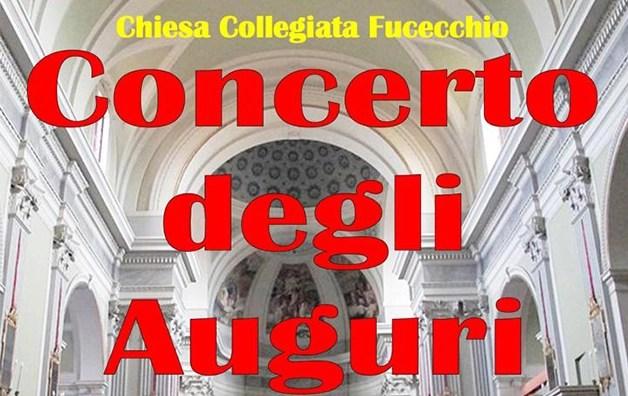 Concerto degli auguri il 22 dicembre a Fucecchio