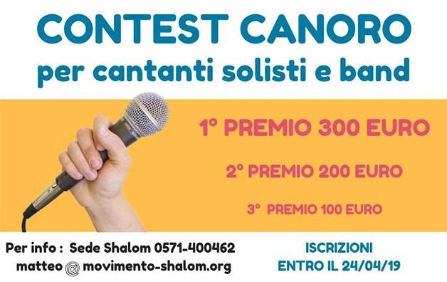 Torna Shalom's got talent il 1 maggio a Collegalli