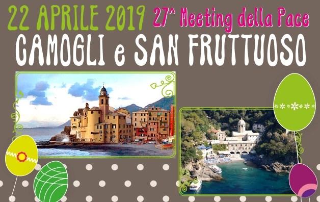 Gita di Pasquetta a Camogli e San Fruttuoso – 27° Meeting della Pace