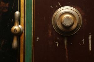 A safe handle.