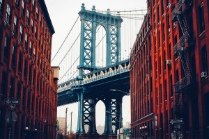 A view of DUMBO.