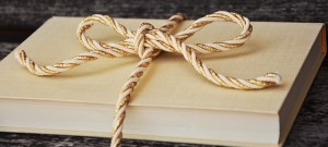 Book tied with rope