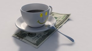 Coffee and a 100 dollars