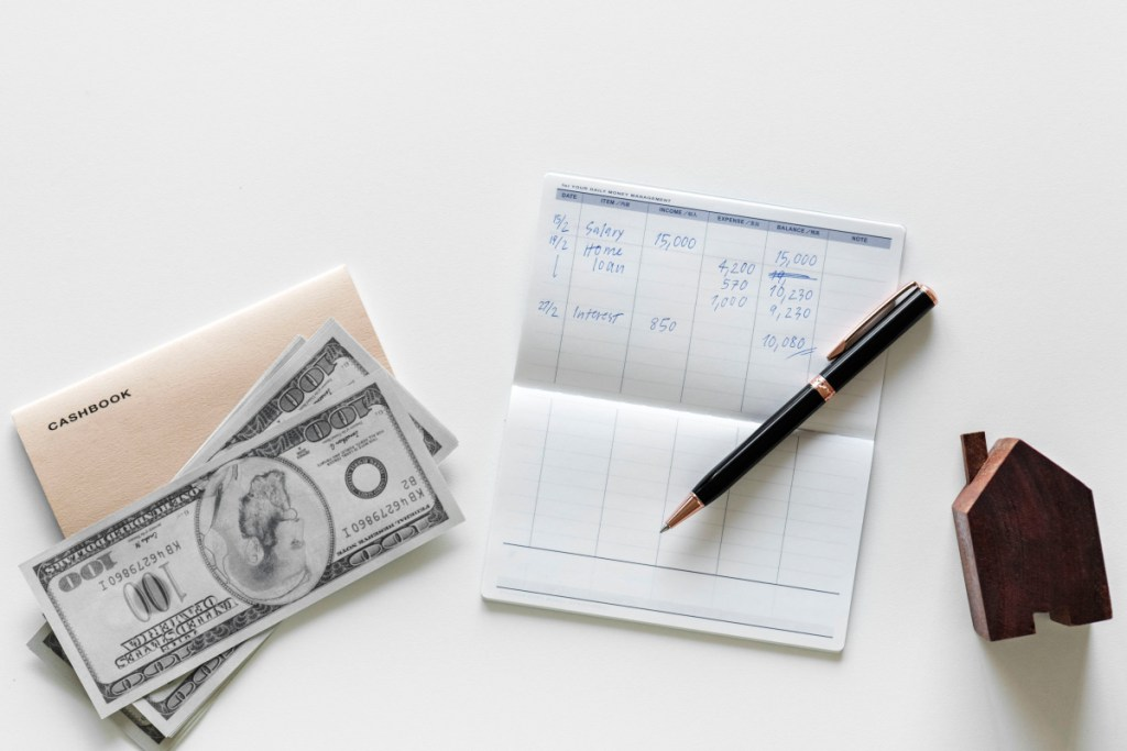 Down payment when buying  a home