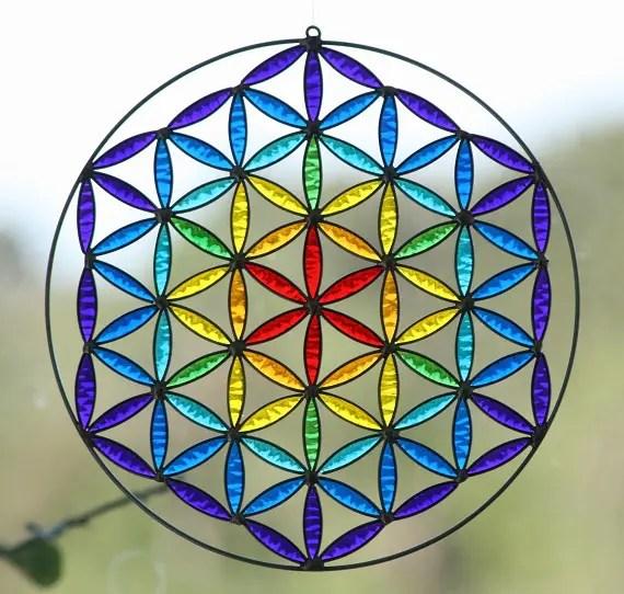 Armonizador flor de la vida de geometria sagrada