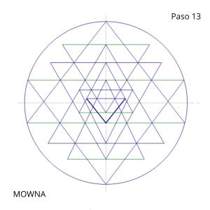 el sri yantra geometria sagrada