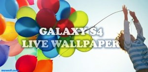 Galaxy S4 Live Wallpaper
