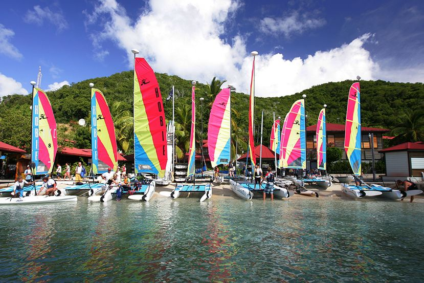Over 100 sail and motor boats for use