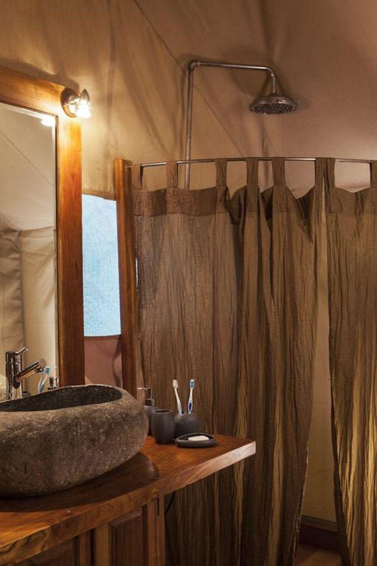Safari Camp tent shower
