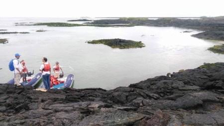 Boat excursion Galapagos Islands