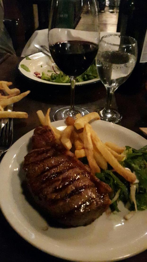 Steak in Don Julio Restaurant