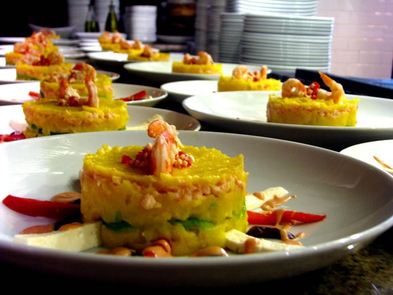 Peruvian ingredients recreated