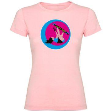 Camisetas Rosa Palo niña Kite girl
