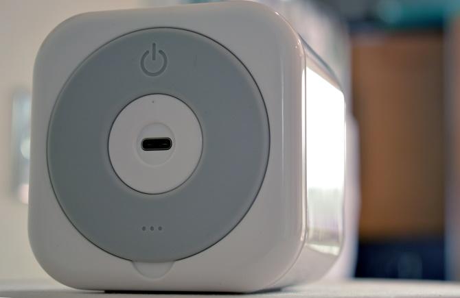 Un port USB de type C et Ethernet se trouve dans le Circle Home Plus