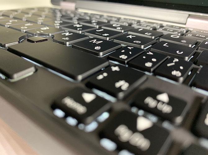 Un clavier rétro-éclairé à cette taille et ce prix est sympa
