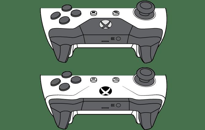 Comparaison des manettes Xbox One