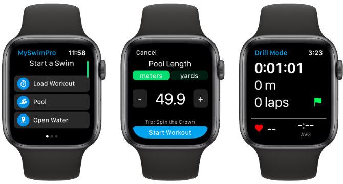 Apple Watch MySwimPro