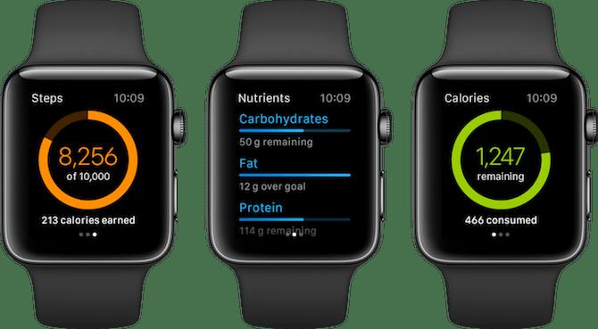 Apple Watch Fitness Apps MyFitnessPal