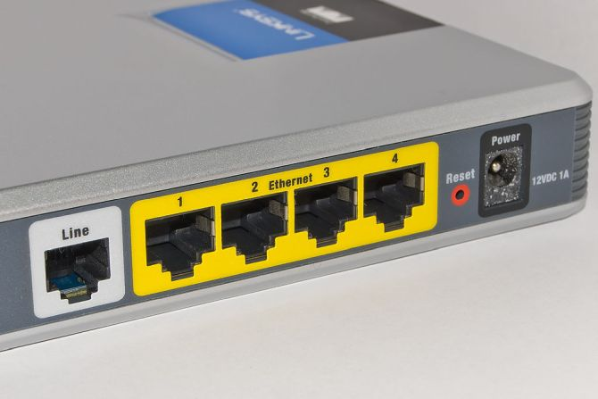 Router-Ethernet-Ports