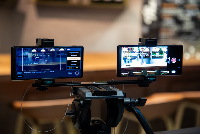 Vergleich von Sony Xperia 1 und Sony Xperia 5 Kameras