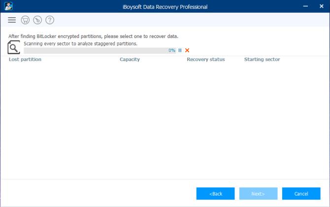 Stellen Sie mit iBoysoft Daten von der Bitlocker-Partition wieder her